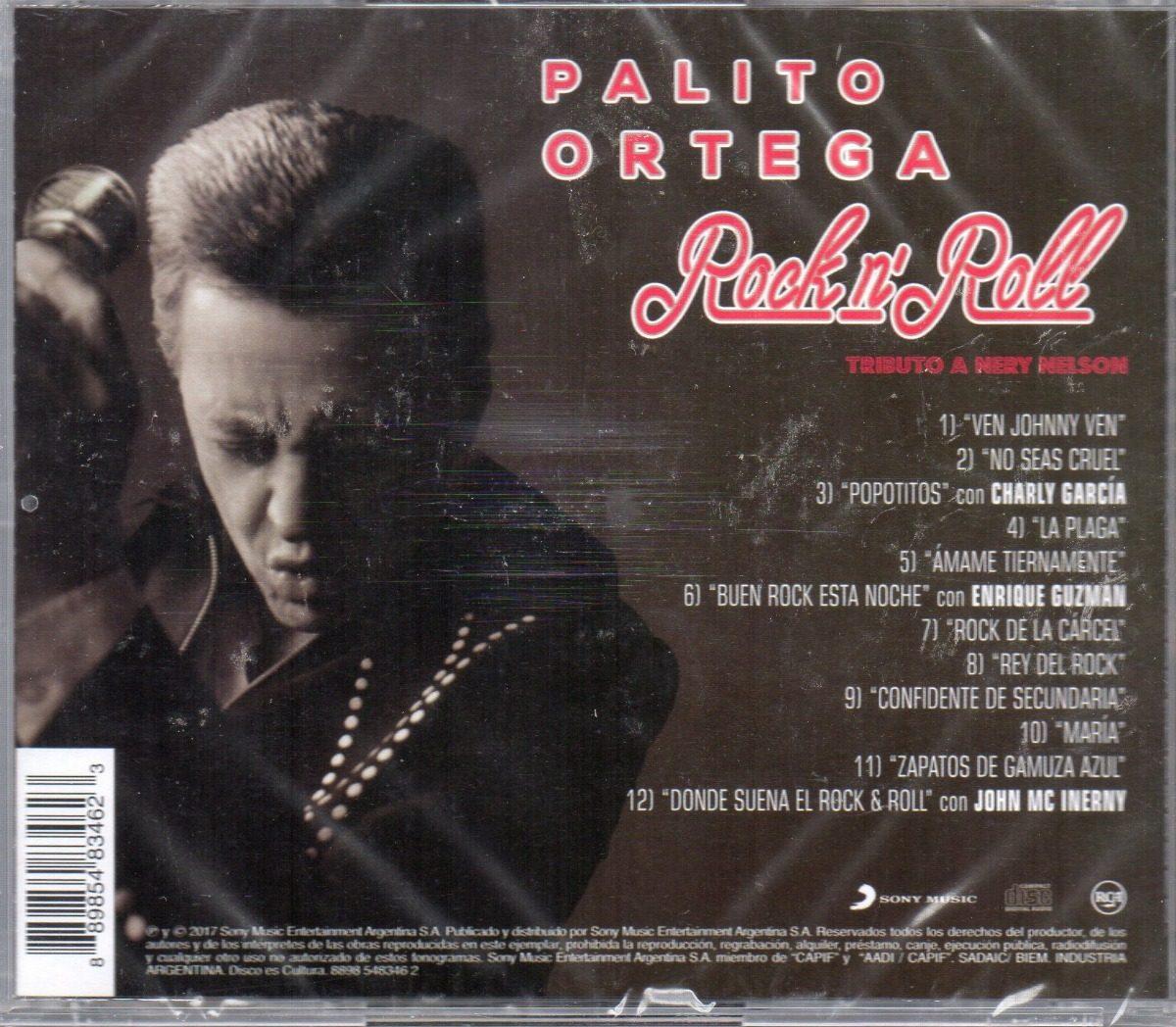 d0dc3696c9 Palito Ortega - Rock N  Roll Cd 2017 - Los Chiquibum -   333