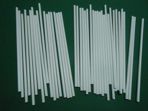 palito para chupetin o paleta  x 1 kilo de 18cm blanco