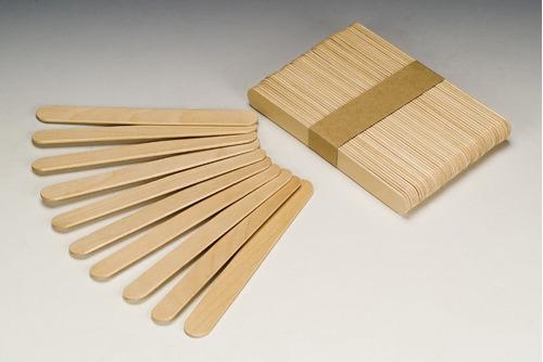 palito para depilação descartável (05 pacotes com 100 und)