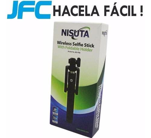 palito para selfie con bluetooth incluido nisuta ns-pse