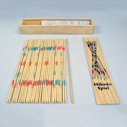 palitos chinos caja de madera 18 cm mikado spiel
