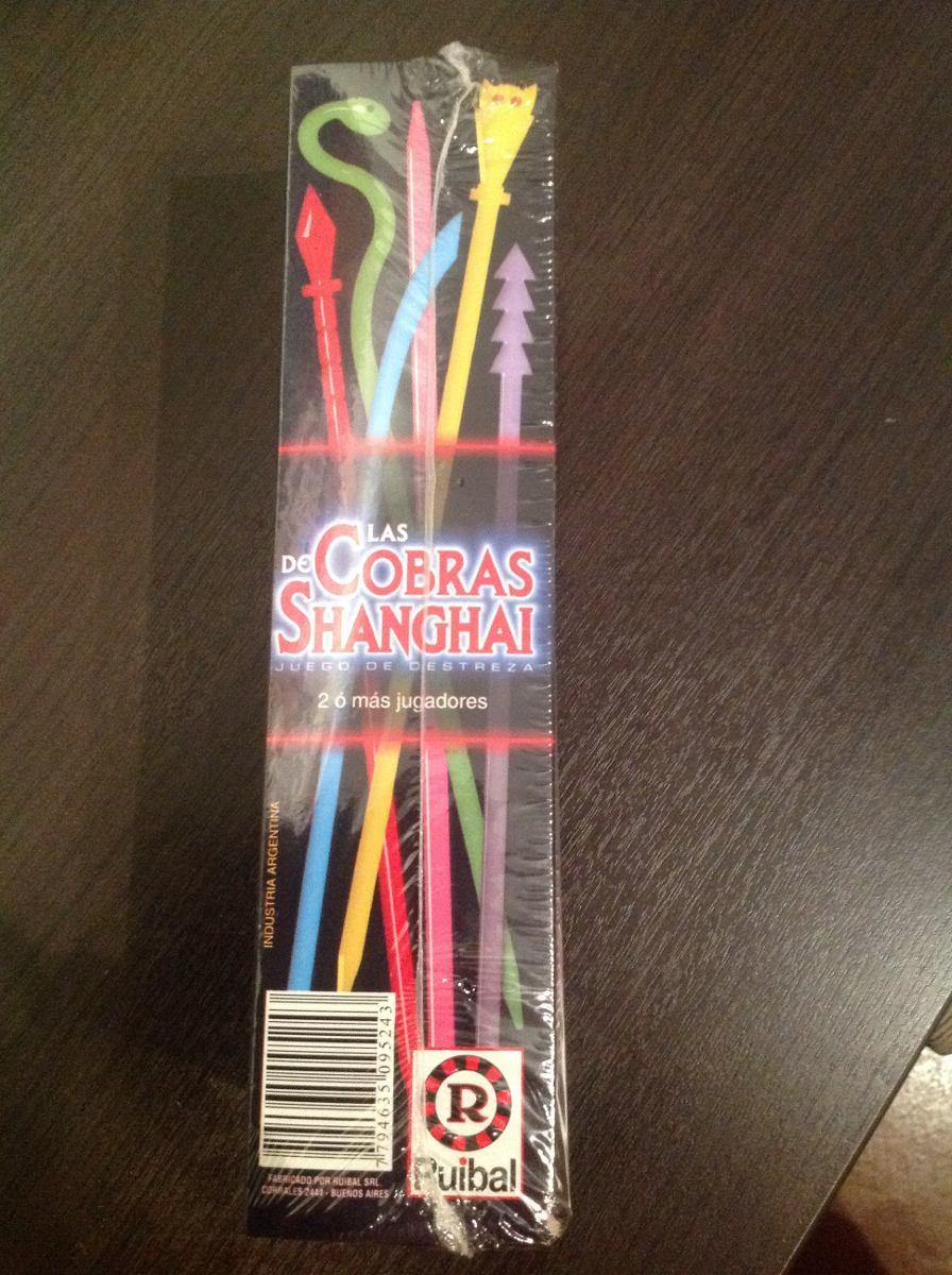 Palitos Chinos Las Cobras De Shanghai Juego De Destreza Mesa 230