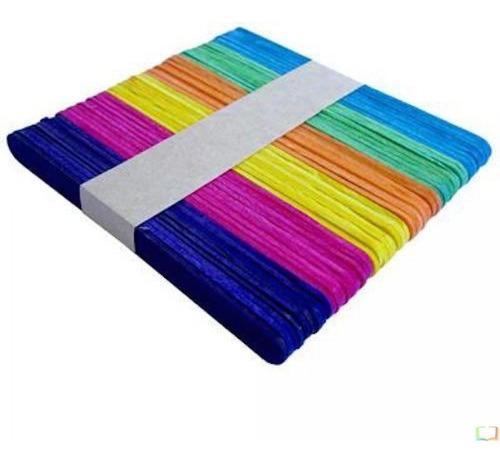 palitos de helado color pack x 500 manualidades hobbies