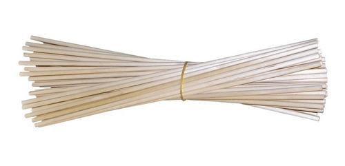 palitos de madera 60 cm, 9 mm, 2 kg
