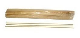 palitos e varetas de bambu p/ algodão doce - 700 palitos