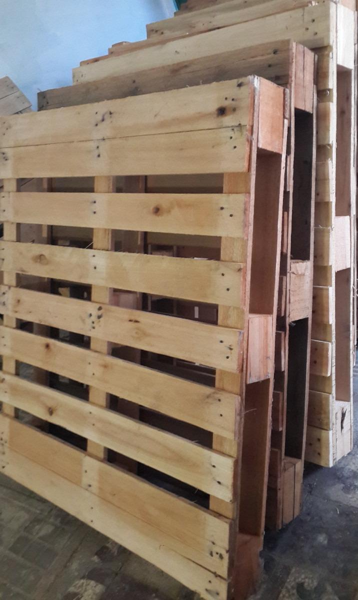 Pallet de madera como nuevos soportan hasta 1000 kg - Madera para palets ...