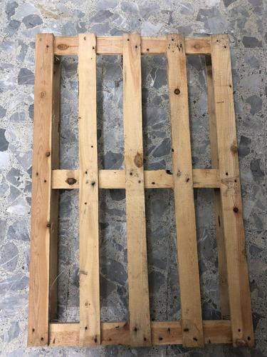 pallet (tarima) de madera de 80 cm x 1.20