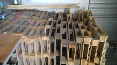 pallets madera para carga 1tonelada