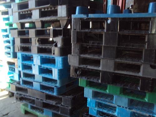 pallets plasticos 110x110  100x120