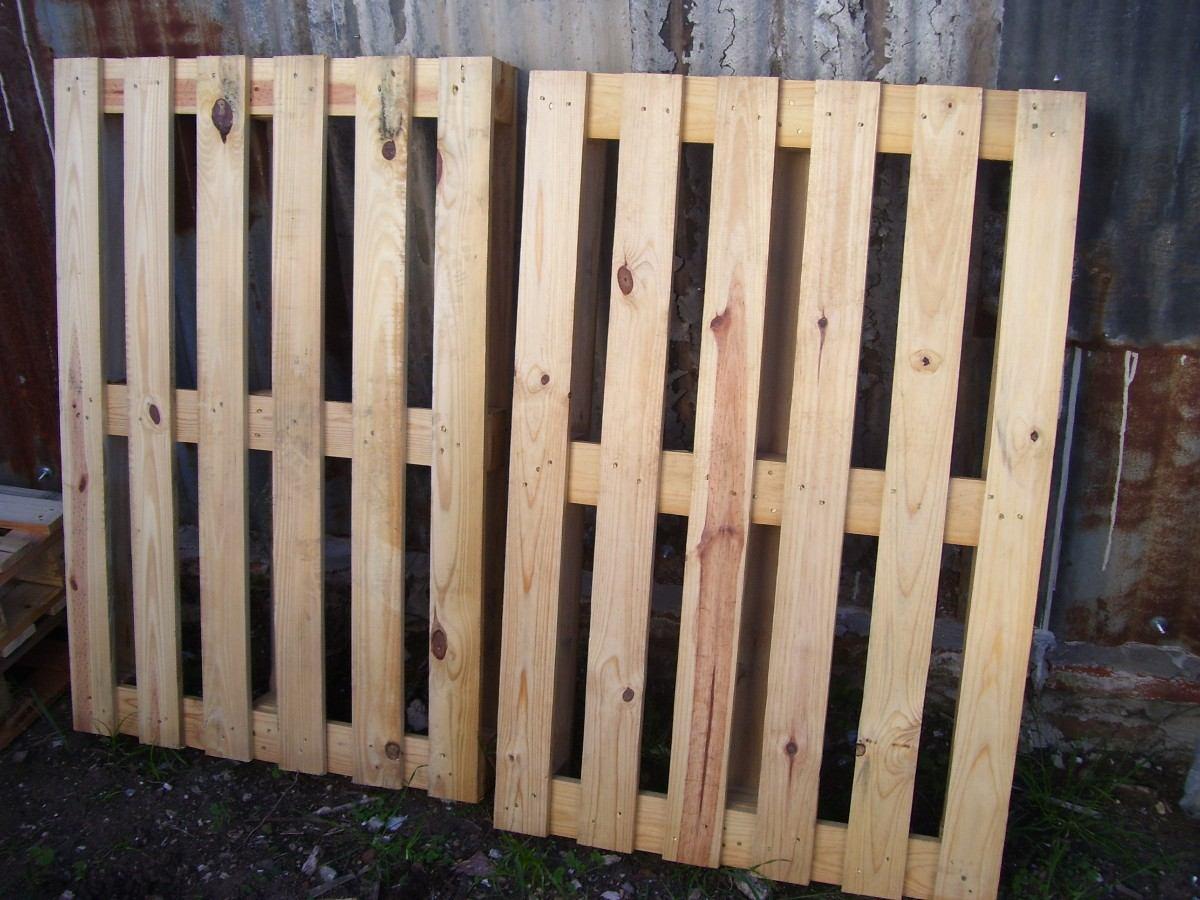 Pallets palets de madera mercosur y estilo europeos impeca - Cuanto vale un palet ...