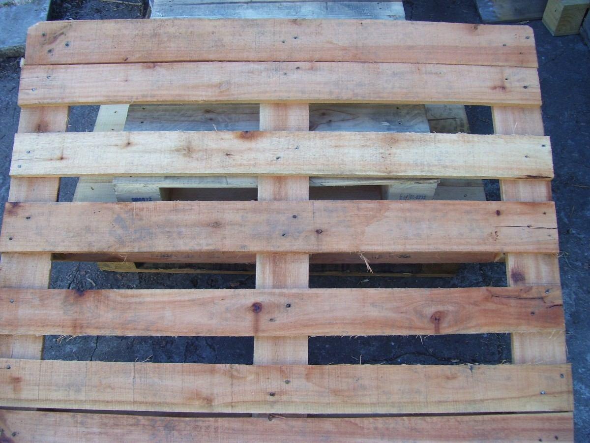 Pallets palets de madera mercosur y estilo europeos impeca for Madera para palets