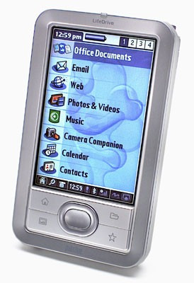 palm lifedrive organizador handheld refurbished - factura b