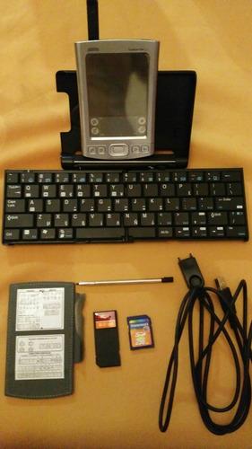 palm tungsten e2 con accesorios