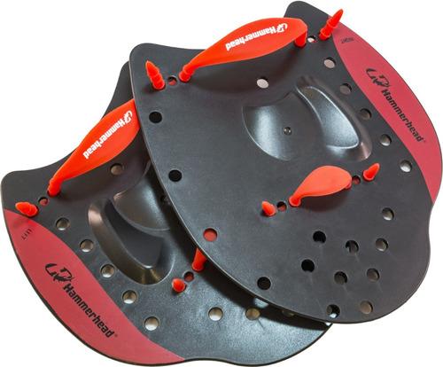 palmar elite hand paddle hammerhead / tamanho m