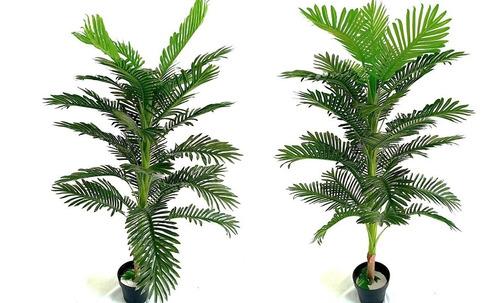palmas plantas artificiales realistas decoración 1.65 alto