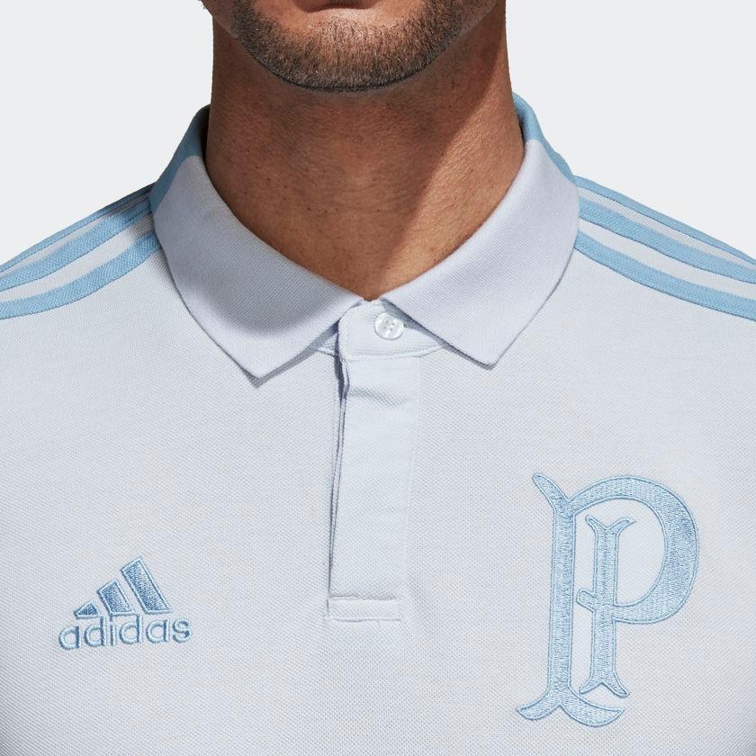 Carregando zoom... camisa polo cotton palmeiras adidas br8145 futebol  original 8ab393aa952d2