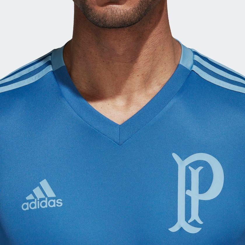 56a64fd4fb Camisa Palmeiras Treino adidas Br8160 Futebol Original - R  169