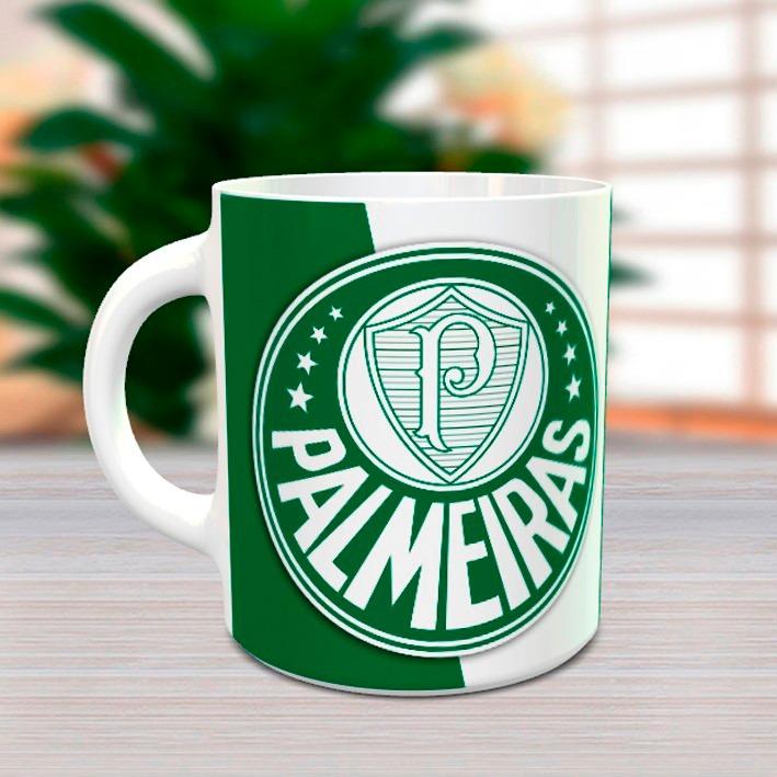 Palmeiras - Linda Caneca Personalizada Com Seu Nome - R  27 bc9f3827f8602