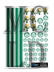 palmeiras - logomarca - muttley custom - decal 1:64