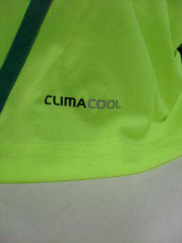 palmeiras s/nº verde limão tam. g 55x72 original adidas nova