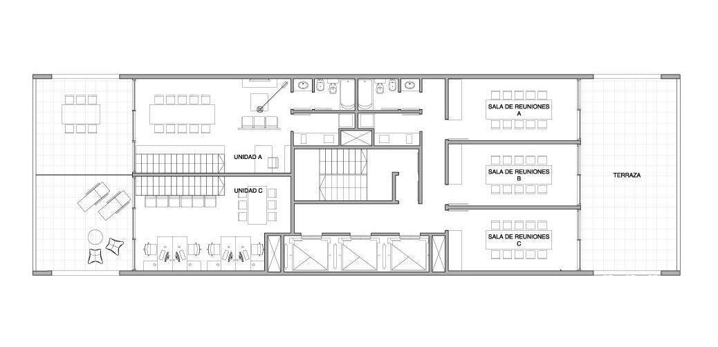 palmera bureau - oficina - 56m2 en puerto de olivos