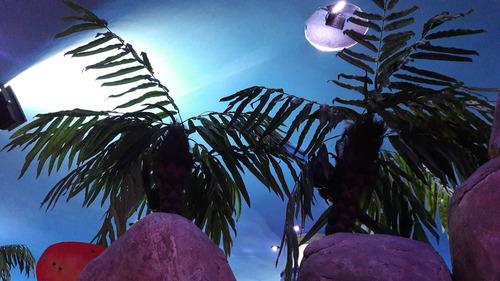 palmera cocotera artificial