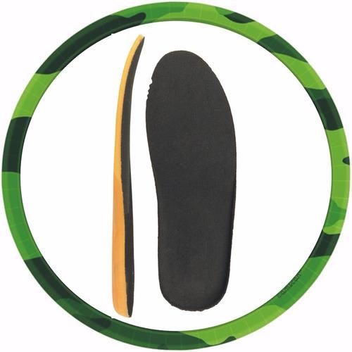 palmilha anatômica conforto p/ coturnos tênis sapatos 35/47.