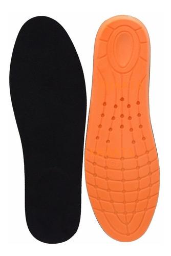 palmilha anatômica ortopedica gel coturno botas tênis sapato