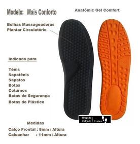 c141f1cc7 Palmilha Ortopedica Para Botas no Mercado Livre Brasil