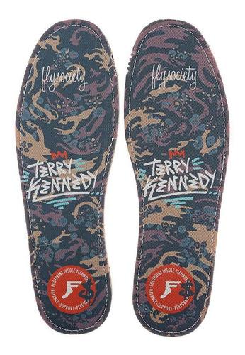 palmilha footprint flat terry kennedy 5 - 5.5 br 35