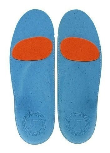 palmilha footprint orthotic biebel anjel's 12-12.5 br 44