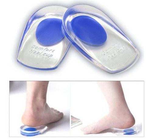 palmilha gel silicone ortopédica macia esporão bota