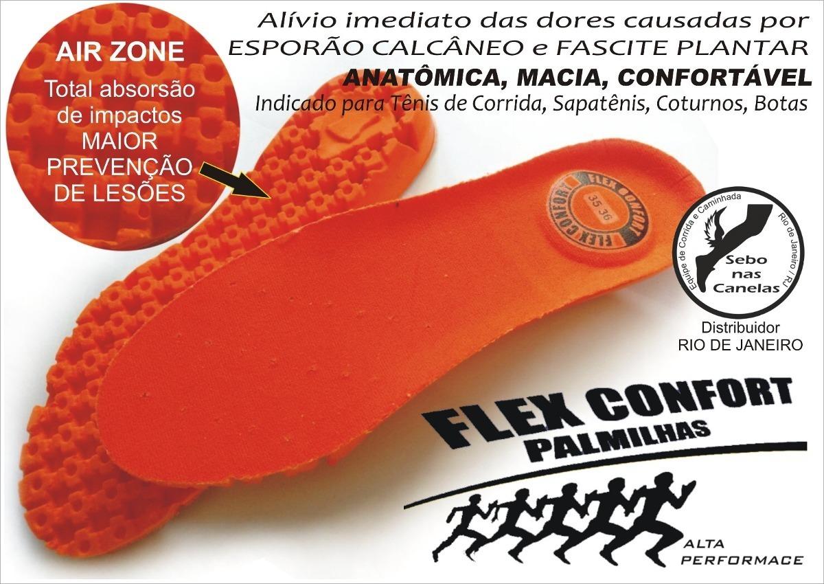 62db7ca1f Palmilha Ortopédica Flex Confort - R$ 26,99 em Mercado Livre