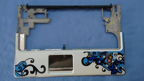 palmrest (base teclado y touchpad)  hp dv6 1260 se blanca