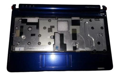 palmrest carcasa superior touchpad netbook acer zg5 azul