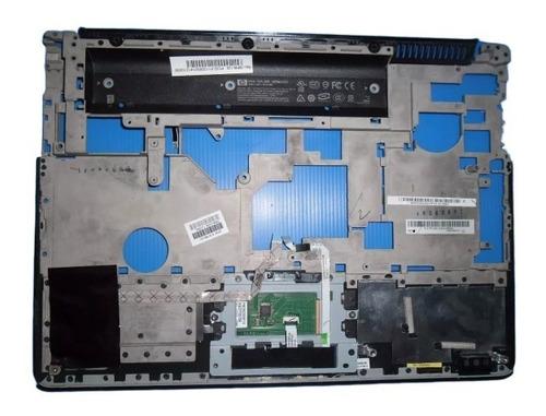 palmrest carcasa superior touchpad notebook hp dv4 negro