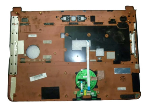 palmrest carcasa touchpad notebook packard bell sl51 vesuvio