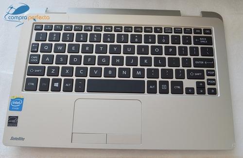 palmrest keyboard touchpad toshiba l15wb 1ka0h01 h000074000