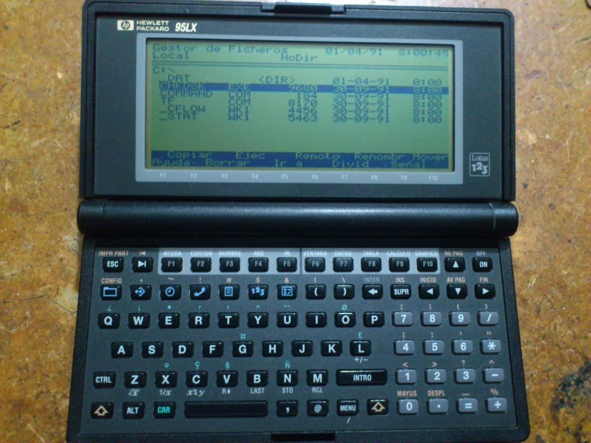 Palmtop Pc Hp 95lx Dcoleccion Cargando Zoom