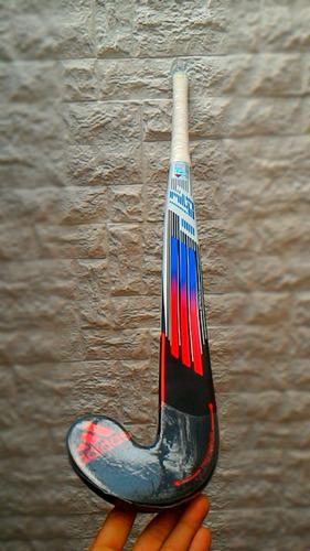 palo de hockey adidas df 24 + porta palo + cubre grip
