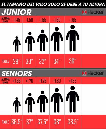 palo de hockey hkr noa 36,5 a 38 pulgadas
