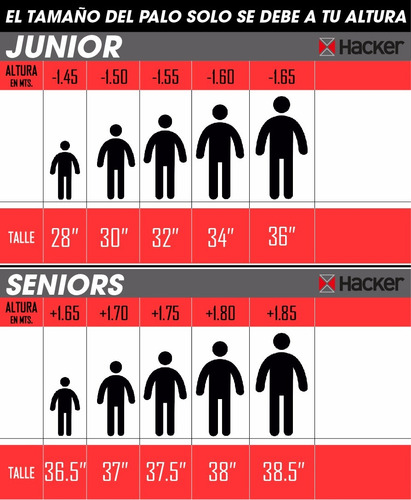 palo de hockey hkr santiagueño 36,5 a 38,5 pulgadas