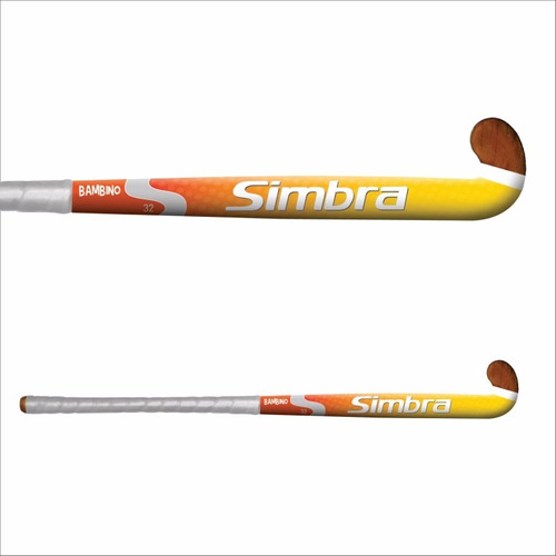 palo de hockey simbra bambino 32¨ colegial madera sólida