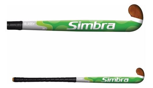 palo de hockey simbra glassy 34¨-36¨-37¨-38¨ madera / fibra