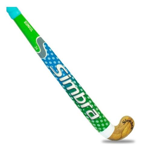 palo de hockey simbra madera maciza bastón de juego mvdsport