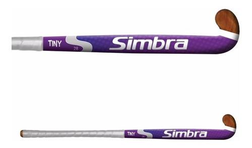 palo de hockey simbra tiny 28¨ colegial madera sólida