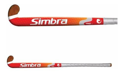 palo de hockey simbra winner 37¨ colegial madera sólida