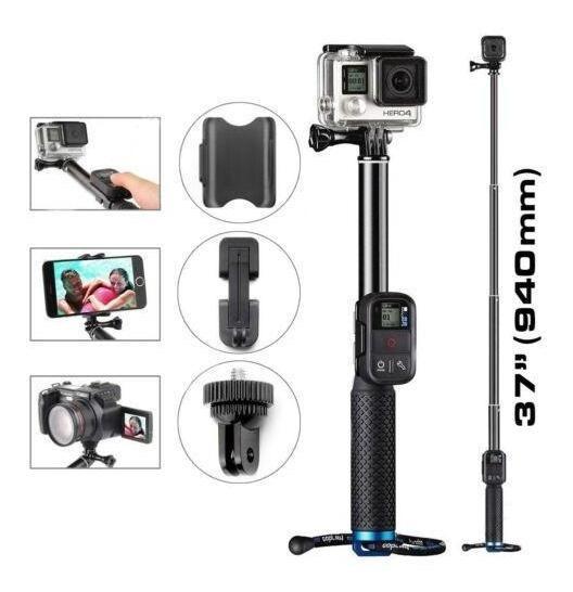 19 Pulgada Monopié Telescópico Extensible De Mano Selfie Stick Telescópico Poste