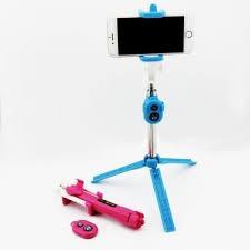 palo de selfie bluetooh tripode y control