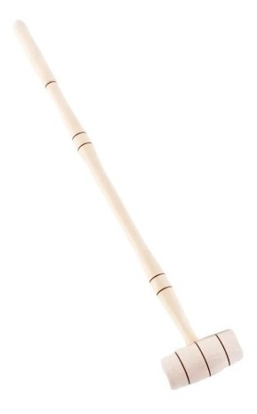 palo madera torneada natural juego croquet xunidad 80cm baum